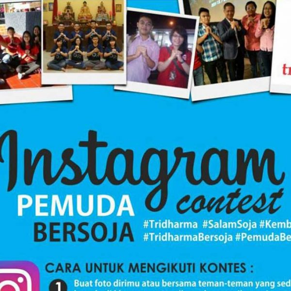 "BULETIN TRIDHARMA mengadakan Instagram Photo Contest dengan tema  ""Tridharma Bersoja"""