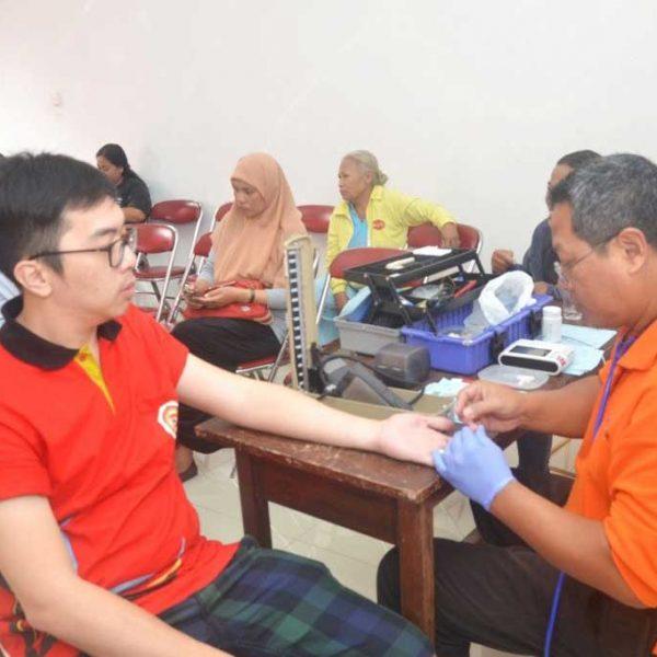 Baksos & Donor Darah  TITD Liong Hok Bio Magelang