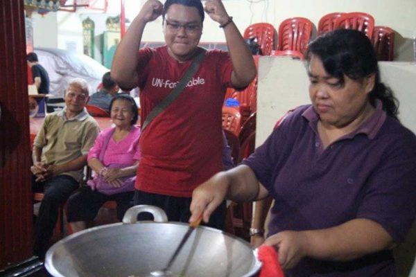 Lomba Masak Menyambut Tahun Baru Imlek Wihara Amurwa Bhumi Cibinong