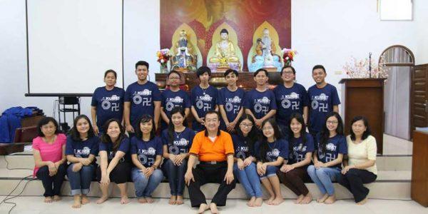 """Sarasehan PERMATA """"Perkumpulan Muda Tridharma"""" dan Penghayatan Tridharma di Kelenteng Fu Man Tang Tasikmalaya Jawa Barat"""