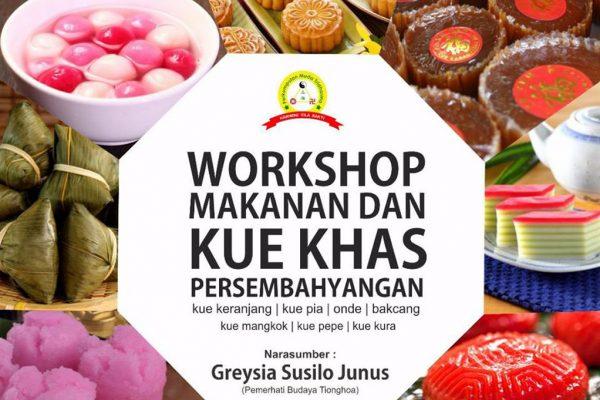 Workshop Makanan dan Kue Khas Persembahyangan Tridharma