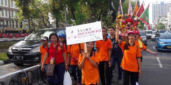 Sam Kauw Bio Barengkok Berpartisipasi Dalam Kirab Fat Cu Kung Bio Jakarta 2017