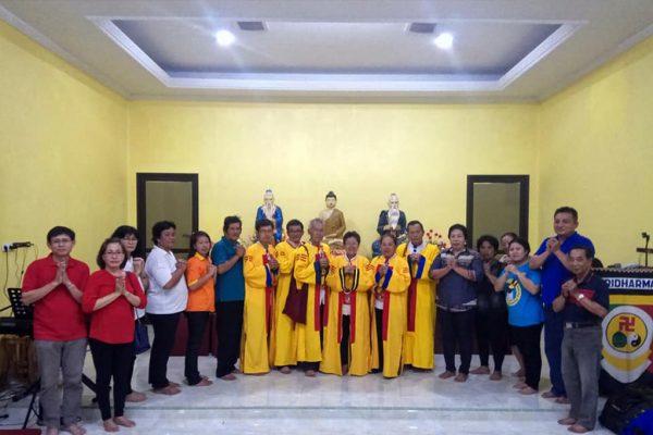 Puja Bakti Dana Tridharma Wihara Tridharma Kwan Im Bio, Kedaung Barat, Tangerang