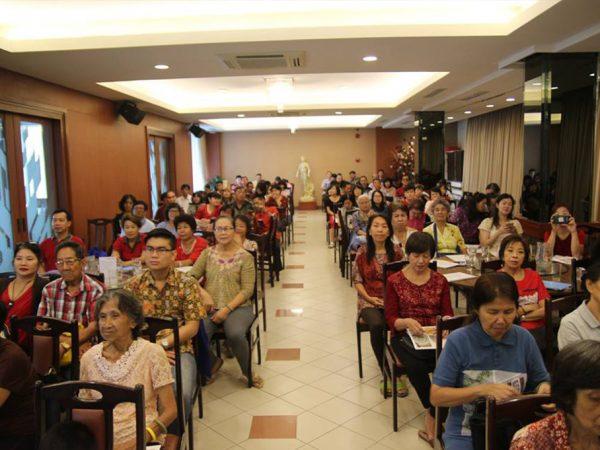 Dharmadesana & Cia Peng An Bersama Romo Marga Singgih