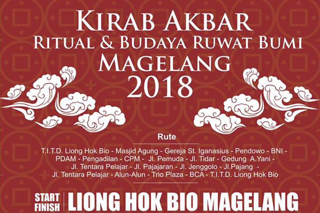 Kirab Akbar Ritual dan Budaya Ruwat Bumi Magelang 2018