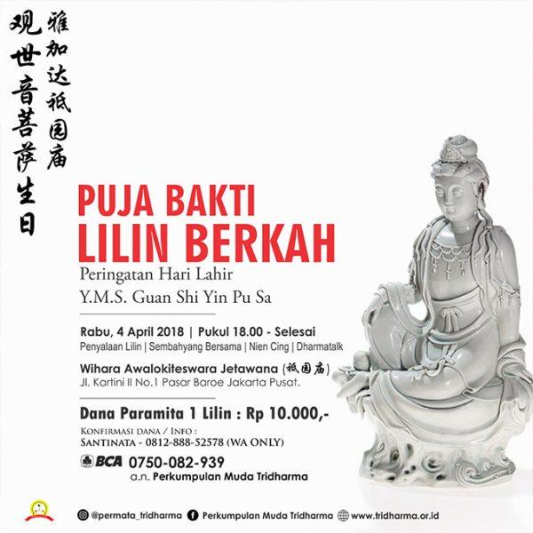 Lilin Berkah Sejit Y. M. Makco Kwan Im Po Sat