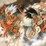 Dewa Angin, Dewa Halilintar, Dewa Kilat dan Dewa Awan (Feng, Lei, Dian, Yun dan Yu).
