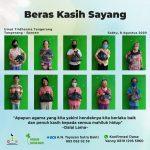 Beras Kasih Sayang, 08 Agustus 2020 – Tangerang & Cikarang