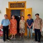 Ban Ban Kamsia – Telah Rampung Bedah Rumah Keluarga Ny. Jd. Tan Gwat Sin, Losari, Kab. Cirebon.