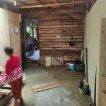 Progres Bedah Rumah Bpk. Tjiu Moi Sin. Dusun Sungsung, Sambas – Kalimantan Barat. per 11 Mei 2021